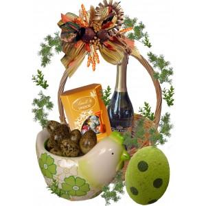 Кошница с подаръци за Великден # 3