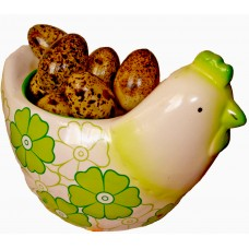 Hen Basket  Green