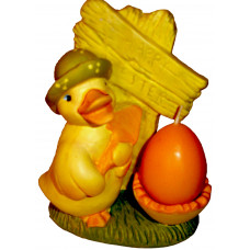 Duck Candle Holder - Easter Decor