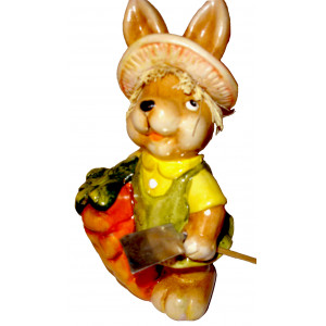 Easter bunny - Ceramic decor