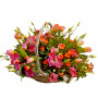 Desiree - Mixed flowers in basket