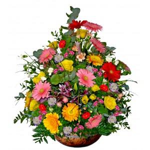 Colorful Sensation - Mixed floral arrangement