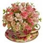 Анна - Цветя в порцеланов чайник