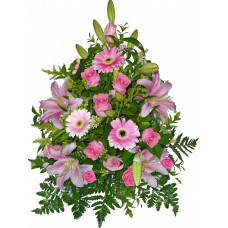 Силвия - Аранжировка с цветя