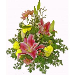 Наоми - аранжировка с цветя