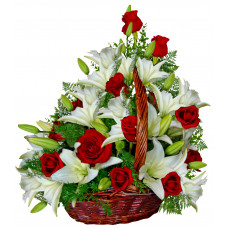 Indiana - Flower basket