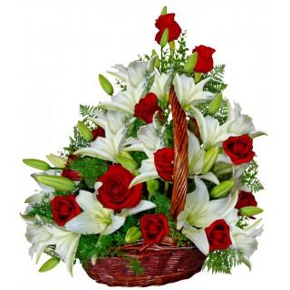 Индиана - Кошница с цветя