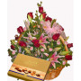 Elegant Evening - Flower basket