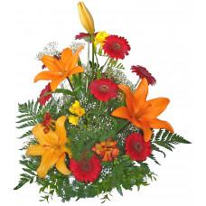 Роберта - аранжировка цветя микс
