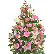 Михаела - аранжировка от цветя микс
