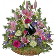 Мадисън - цветя и вино