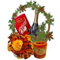 Споделете радостта - Кошница с подаръци