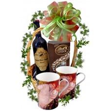 """Чаши за кафе """"Даная"""" в кошница"""