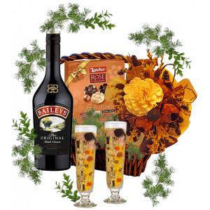 Cocktail Glasses in gift basket