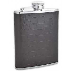 Black drinking flask