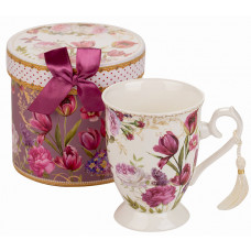 Porcelain Cup - Tulips