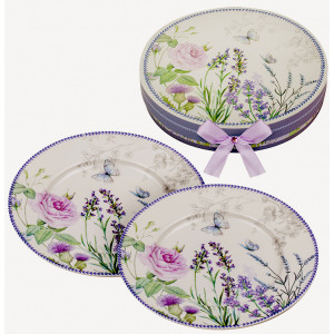 Set of 2 Plates - Lavender