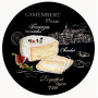 Charlotte # 3 - Roses and Set 4 plates - World of Cheese