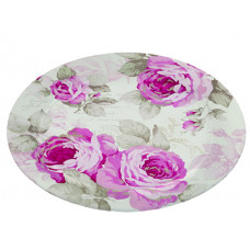Glass Plate - Country Roses