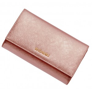 Ladies purse brilliant pink ROSSI
