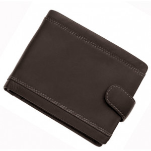 Men's Wallet # 1 - SILVER FLAME