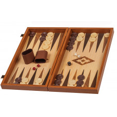 Wood Backgammon Vertini