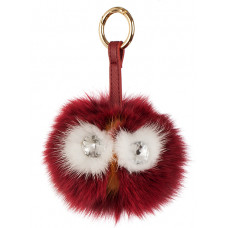 Key chain Red Owl - Miss Girl