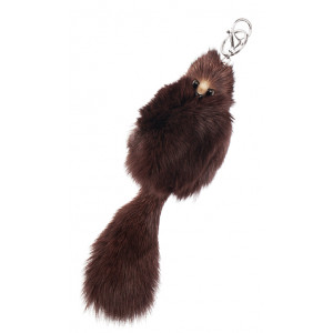 Key chain brown fox - Miss Girl