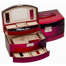 Jewelry Box Burgundy - New Wish Studio