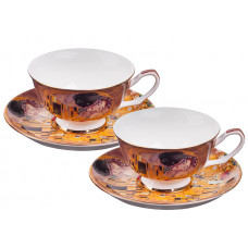 The Kiss - Tea Set
