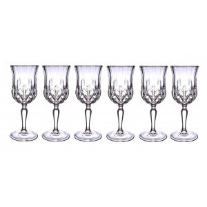 Set of 6 Wine Glasses Opera