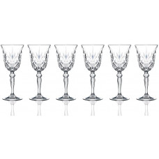 Set of 6 wine glasses - Melodia