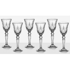 Set of 6 Brandy Glasses Melodia