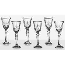 Set of 6 Brandy Glasses Melodia