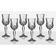 Set of 6 Brandy Glasses Opera