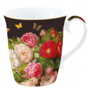 Porcelain bowl - Victorian Garden