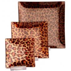 Leopard platters
