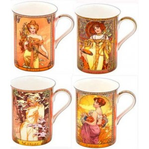 Mug set - Four seasons