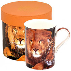 Porcelain Cup with Lion