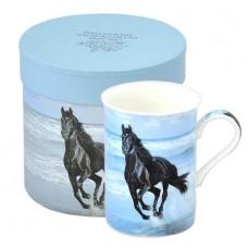 Порцеланова чаша Сини коне