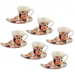 Coffee Set - Roses