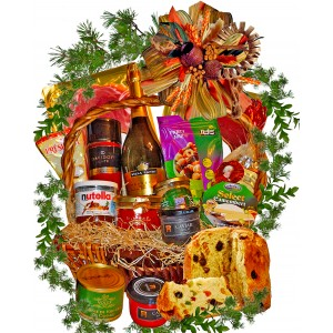 Delicious gift basket