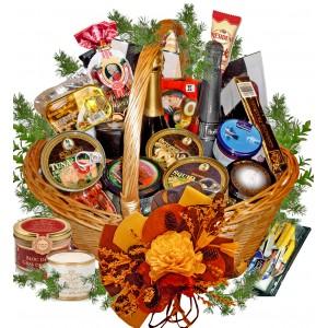 Horn of Plenty Gourmet Basket