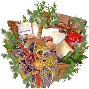 LINDT - The Grand Gourmet Basket