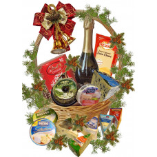 Grand Christmas gourmet basket