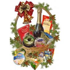 Grand Christmas gourmet basket