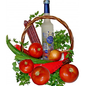 Bulgarian tradition basket