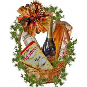 Delight food gourmet basket