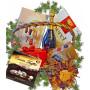 Sweet hamper gourmet basket