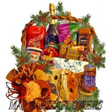 Classic holiday gourmet basket